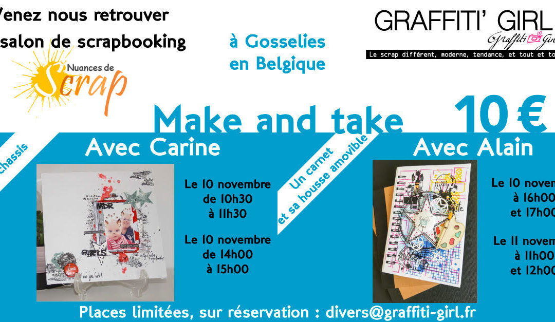 Les Make & Take de Graffiti'Girl