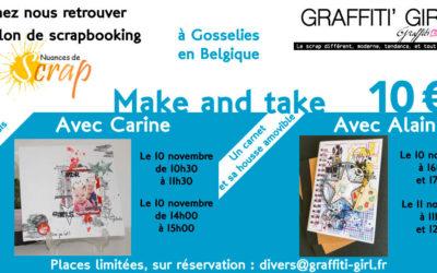 Les Make & Take de Graffiti'Girl